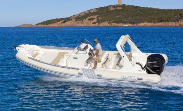 Lomac 790 Secure Boat